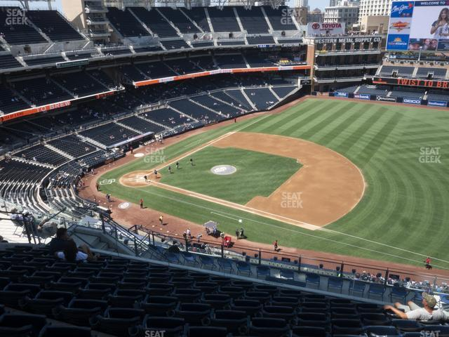 Petco Park Section 315 view