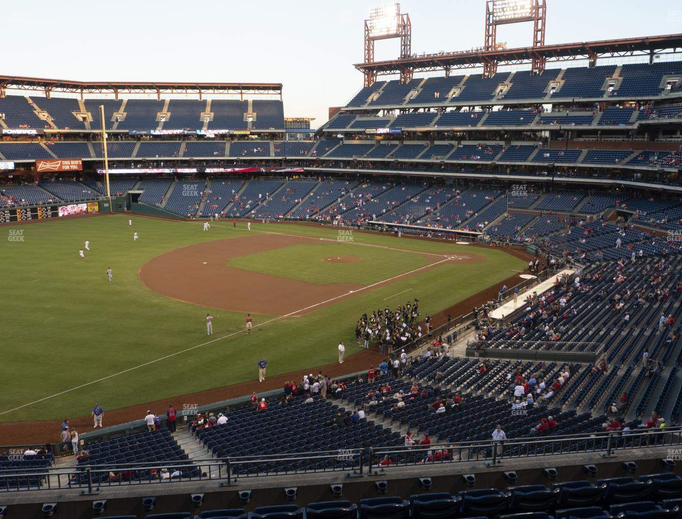 Philadelphia Phillies at Citizens Bank Park Section 234 View