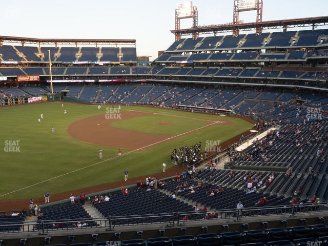 Citizens Bank Park Section 234 view