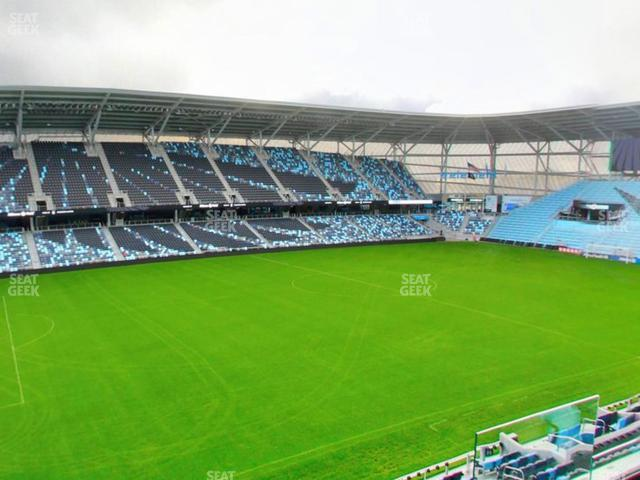 Allianz Field Section 136 view