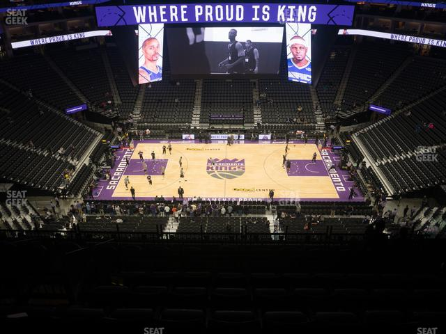 Golden 1 Center Section 218 view