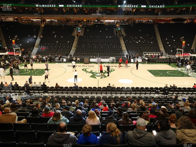 Fiserv Forum Section 106 view