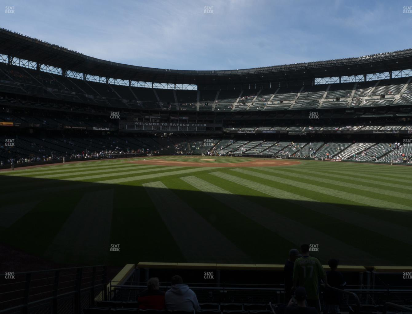 Seattle Mariners at T-Mobile Park Section NA 104 View