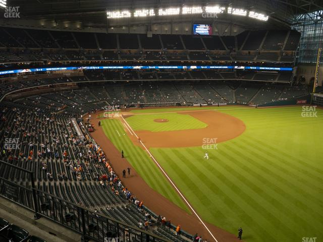 Minute Maid Park Section 334 view