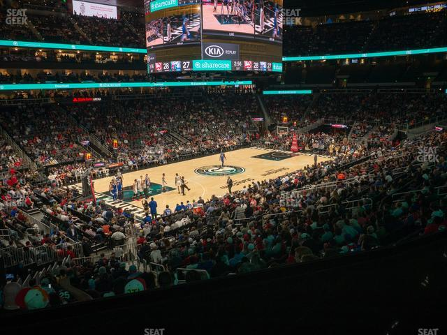 State Farm Arena Section T 26 view