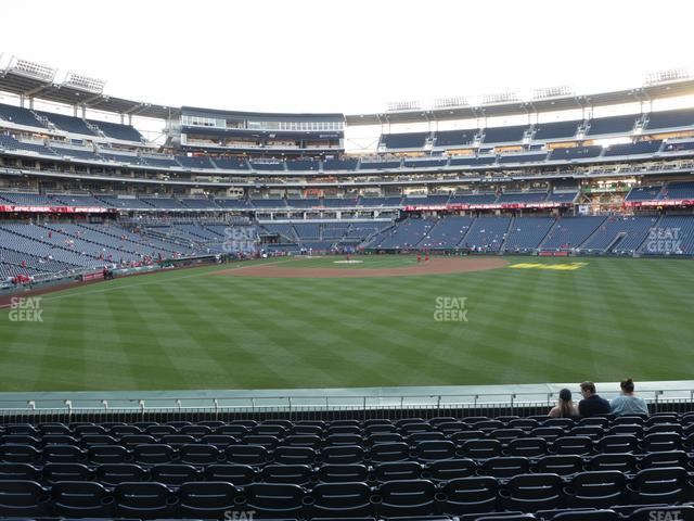 Nationals Park Section 141 view