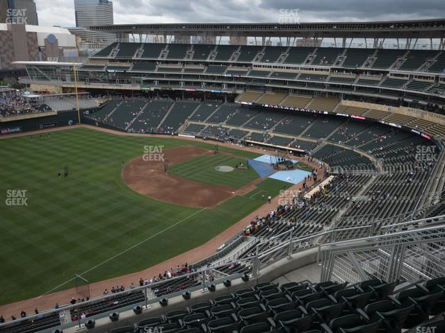 Target Field Section 327 view