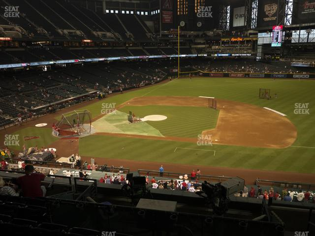 Chase Field Section 208 view