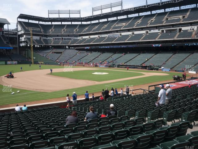 Globe Life Park Section 16 view