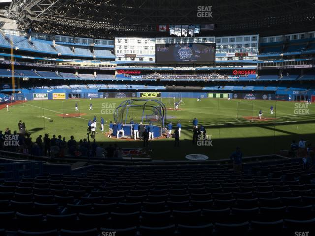 Rogers Centre Section 121 R view