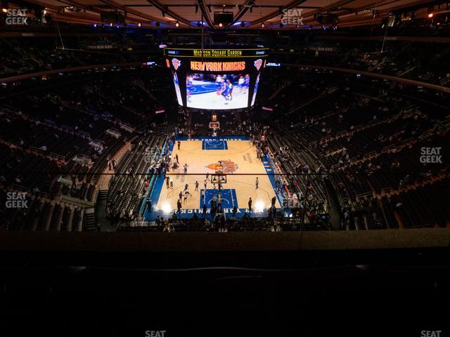 Madison Square Garden Section 305 view