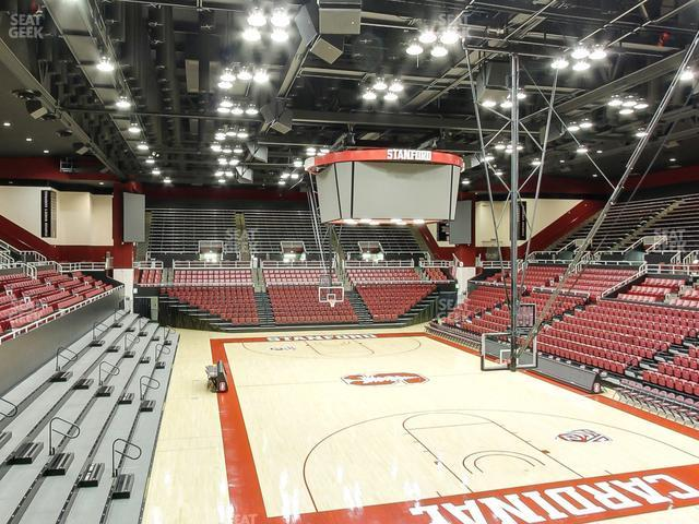 Maples Pavilion Section 14 view