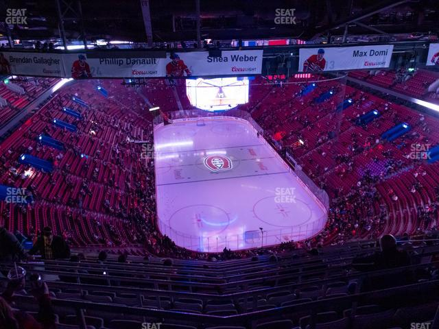 Bell Centre Section 411 view