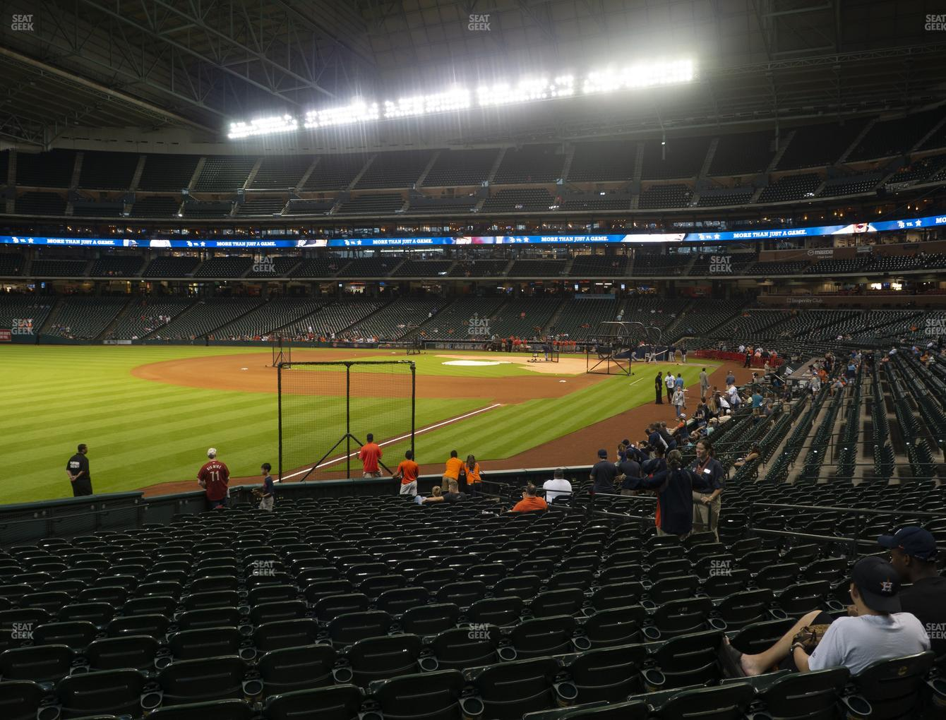 Houston Astros at Minute Maid Park Section 106 View