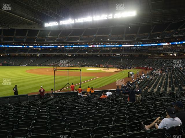 Minute Maid Park Section 106 view