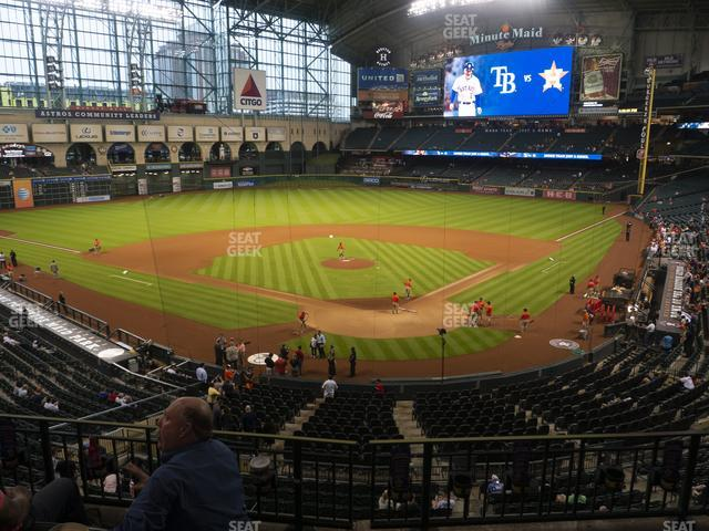 Minute Maid Park Section 218 view