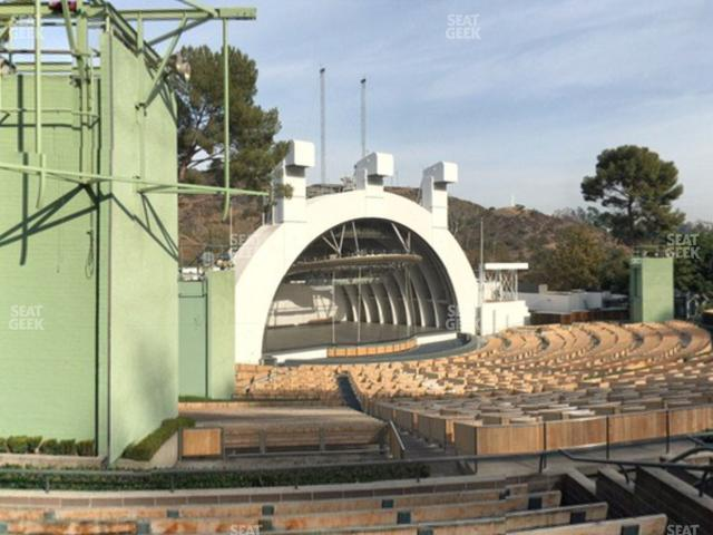 Hollywood Bowl Section K 3 view