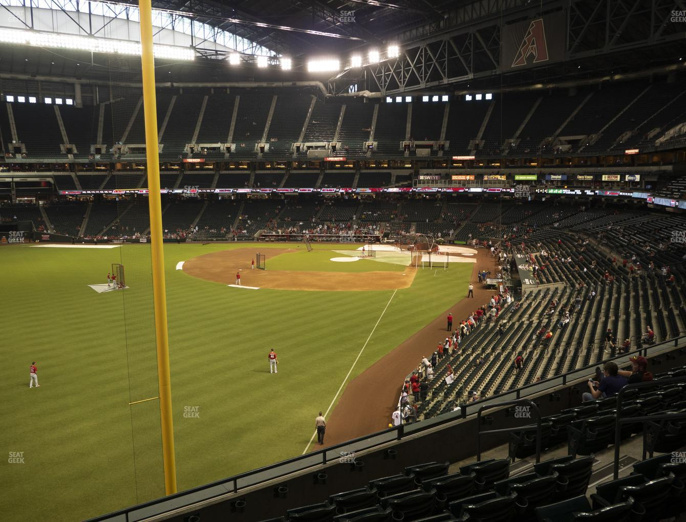 MLB at Chase Field Section 222 View
