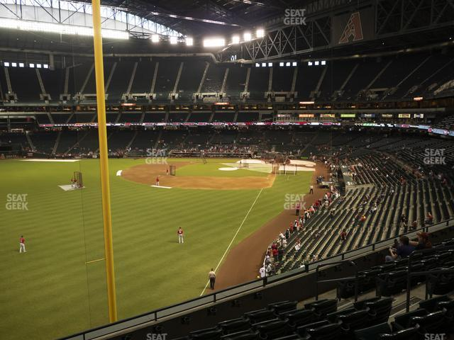 Chase Field Section 222 view