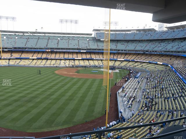 Dodger Stadium Section Club 261 view