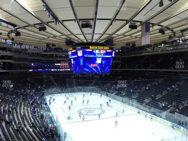Madison Square Garden Section 216 view
