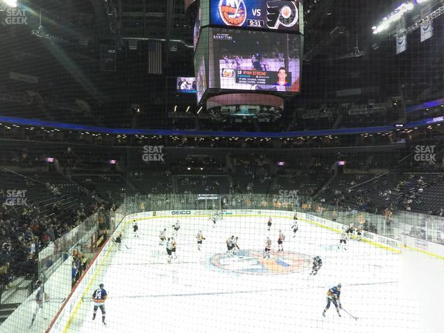 Barclays Center Section 1 view
