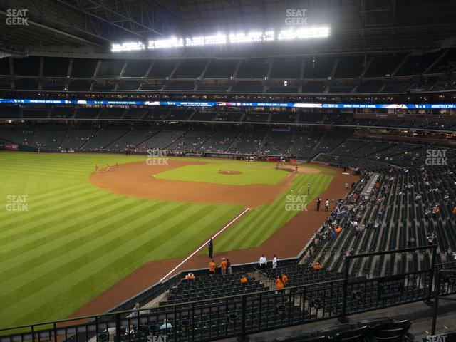 Minute Maid Park Section 205 view