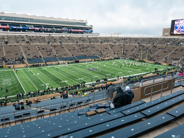 Notre Dame Stadium Section 131 view