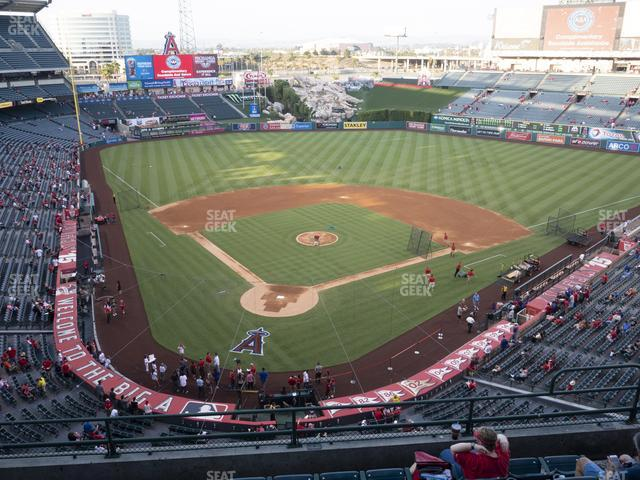 Angel Stadium of Anaheim Section 420 view