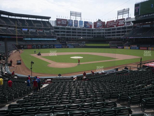 Globe Life Park Section 28 view