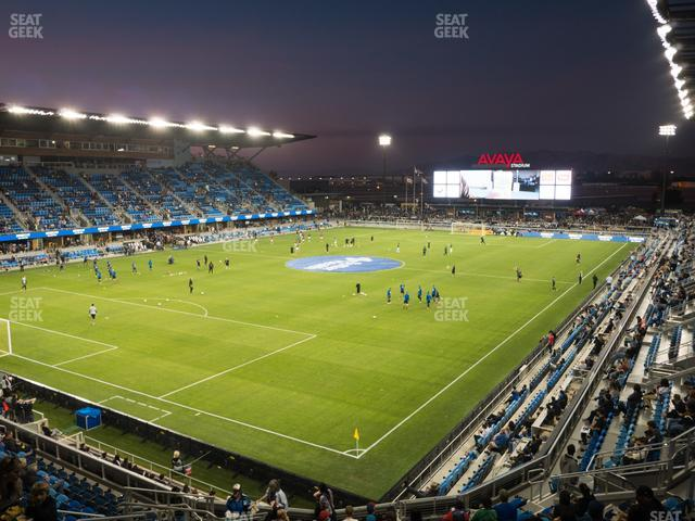 Avaya Stadium Section 122 view