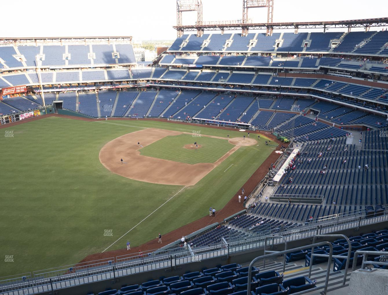 Philadelphia Phillies at Citizens Bank Park Section 433 View