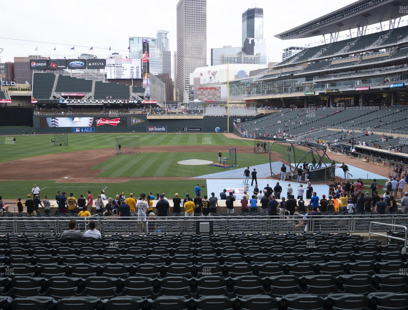 Target Field Section 119 Seat Views