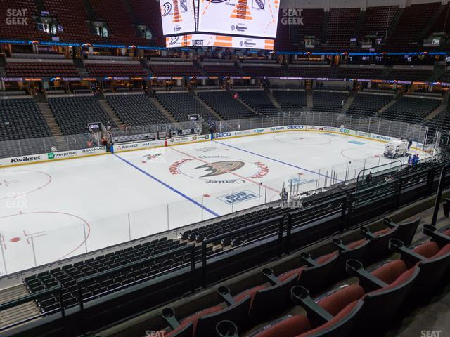 Honda Center Section 322 view