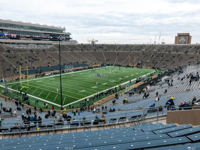 Notre Dame Stadium Section 115 view