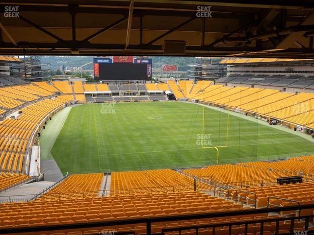 Heinz Field North Club 006 view