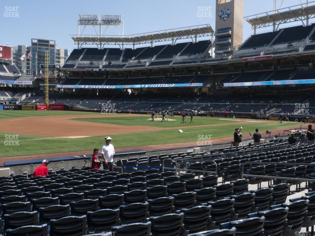 Petco Park Section 114 view