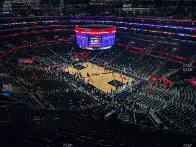 Staples Center Section 331 view
