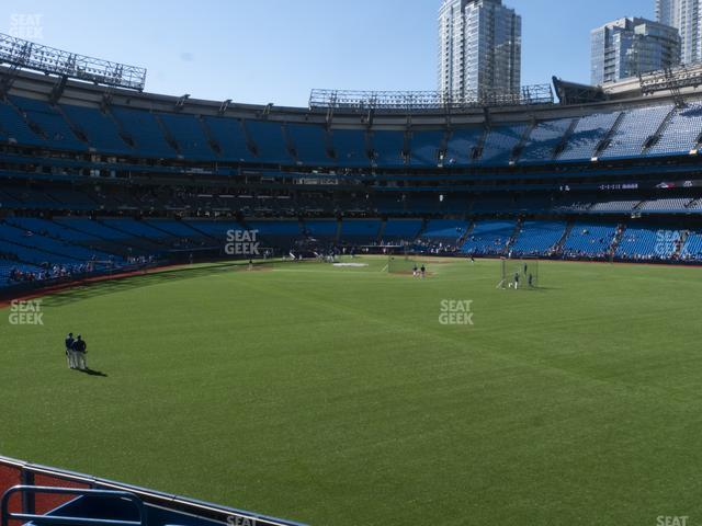 Rogers Centre Section 105 L view