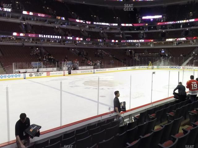 United Center Section 113 view