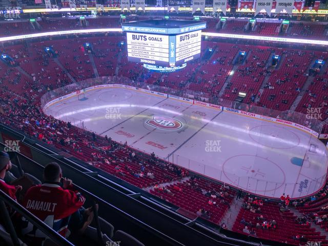 Bell Centre Section 334 view