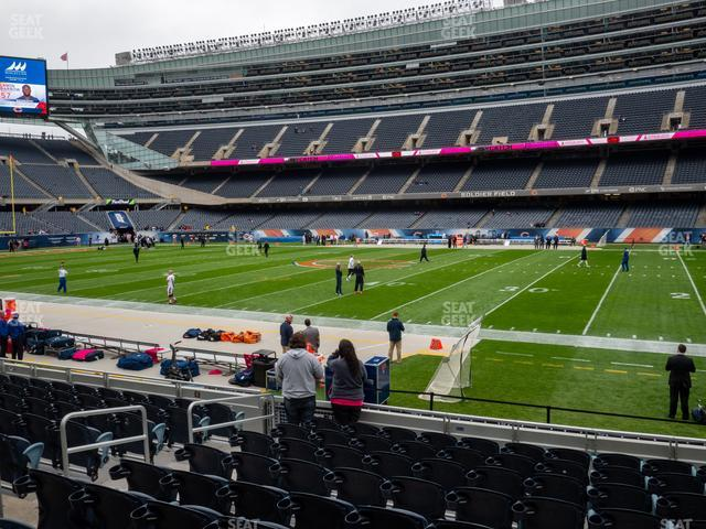 Soldier Field Section 133 view