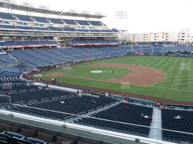 Nationals Park Section 221 view