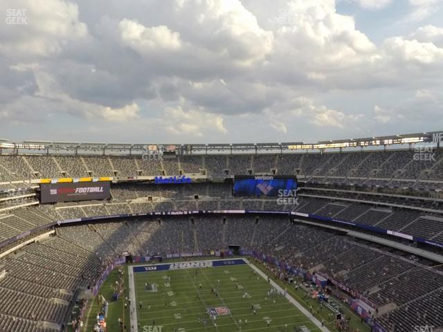 MetLife Stadium Section 303 view
