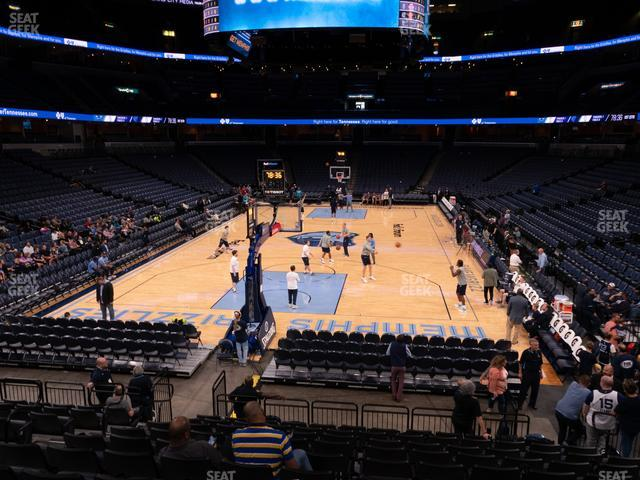 FedExForum Section 101 view