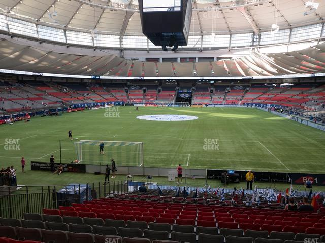 BC Place Stadium Section 253 view