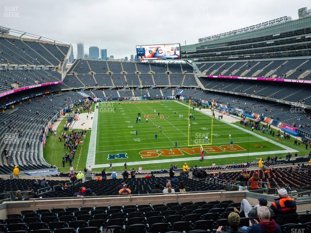 Soldier Field Section 324 view