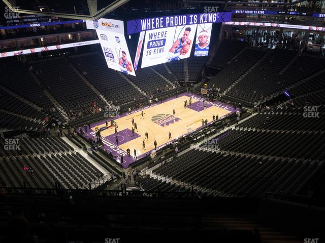 Golden 1 Center Section 208 view