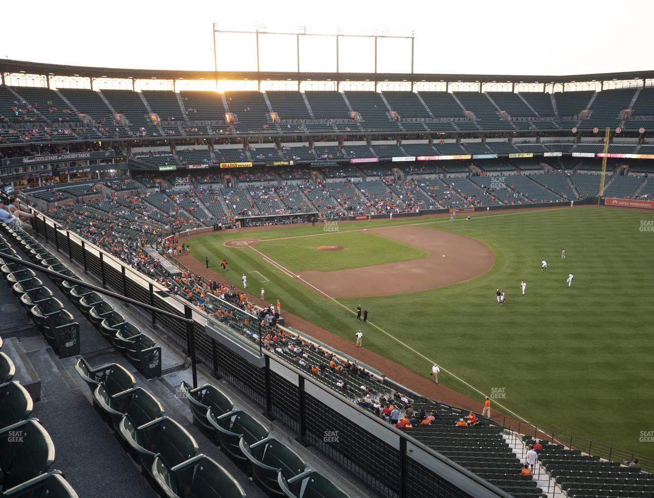 Baltimore Orioles at Oriole Park at Camden Yards Section 306 View