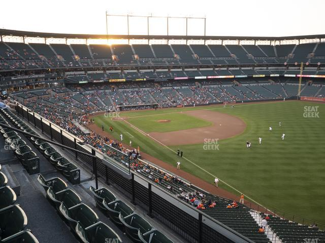 Oriole Park at Camden Yards Section 306 view